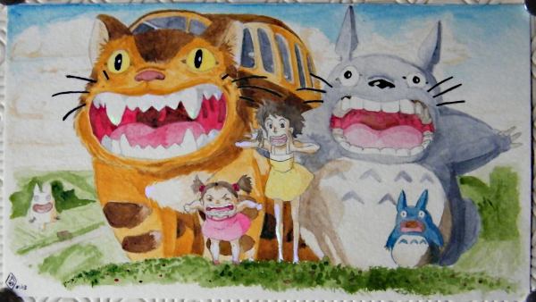 My Neighbor Totoro by Bilou020285